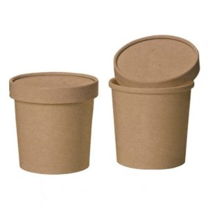 HOT PAPER CONTAINERS & LIDS