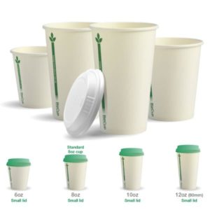 WHITE GREEN LINE BIOCUP